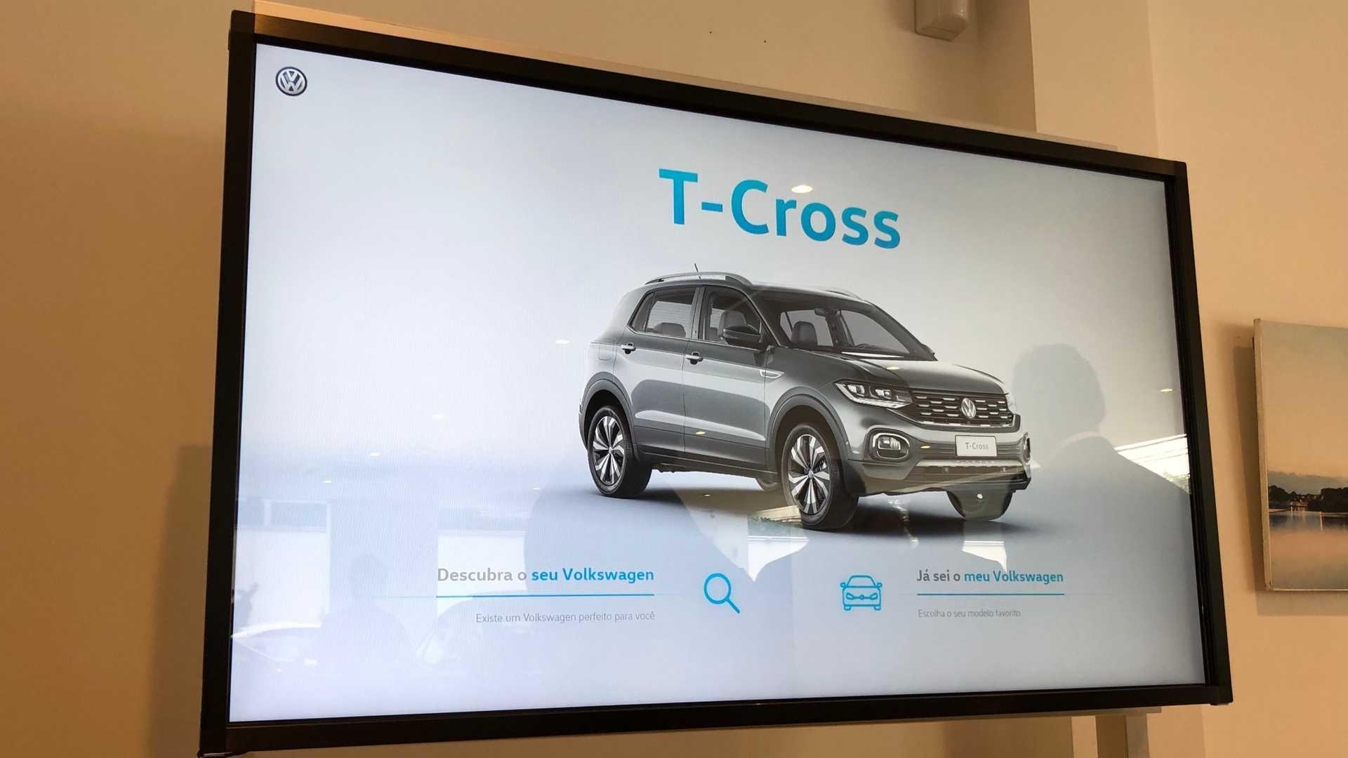 Solução da TV Touchscreen