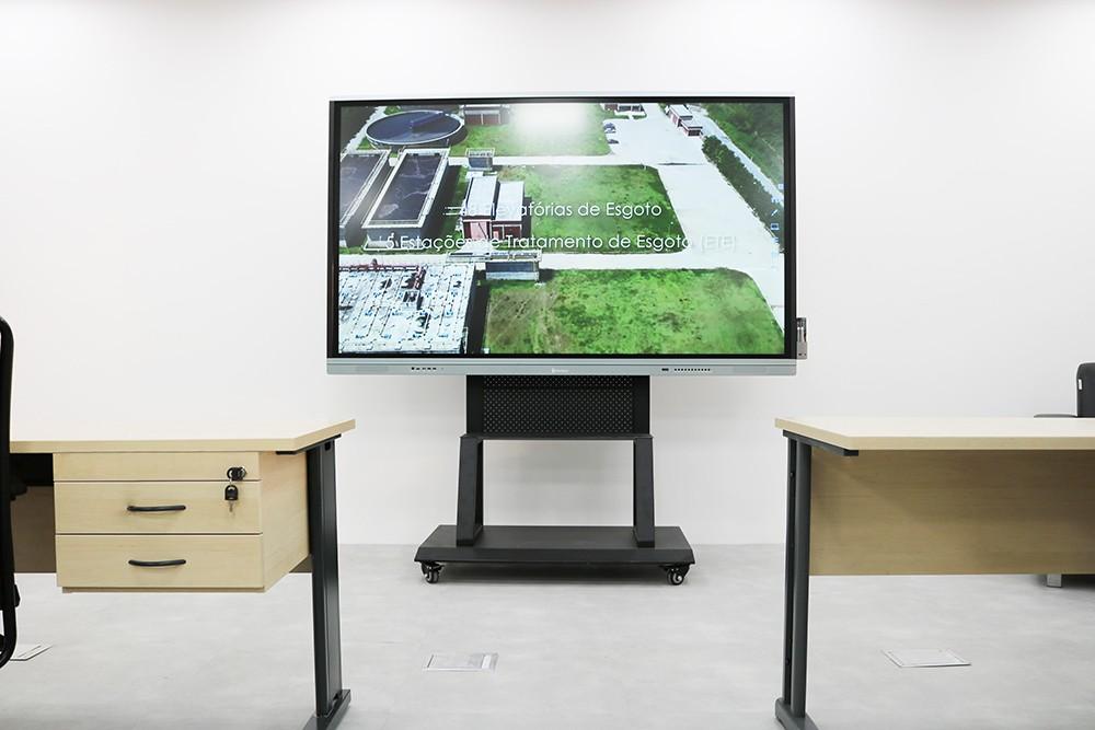 Solução do Display Interativo